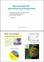 Energispecialiseringen - Student LTH