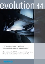 The WIFAG evolution 473 Printing Unit New solutions for WIFAG ...