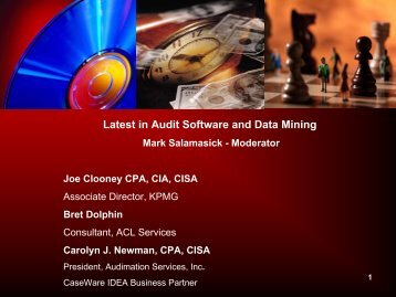 Best Practices: Implementing and Using Audit ... - IIA Dallas Chapter