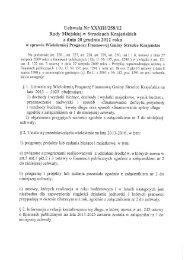 Wieloletnia Prognoza Finansowa - bip.strzelce.pl