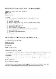 1 Referat af bestyrelsesmøde 25. august 2012, kl ... - Hiv-Danmark