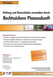 Rechtssichere Planauskunft - Wolter Hoppenberg