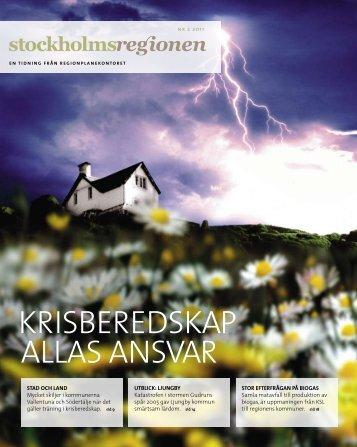 Stockholmsregionen 2-2011 - SLL Tillväxt, miljö och ...