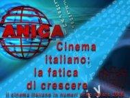 Dati Cinema 2006 - Anica