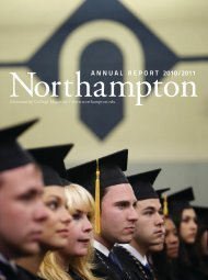 ANNUAL REPORT 2010/2011 - Northampton Community College