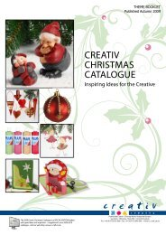 CrEATIv ChrISTmAS CATALOguE