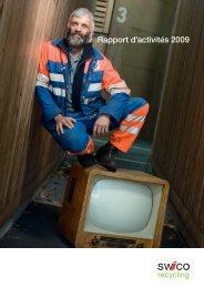 Rapport d'activités 2009 - SWICO Recycling