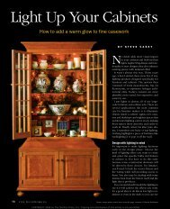 Light Up Your Cabinets - Casey Design - Custom Woodwork