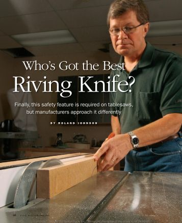 Who's got the Best Riving Knife? - Shark Guard