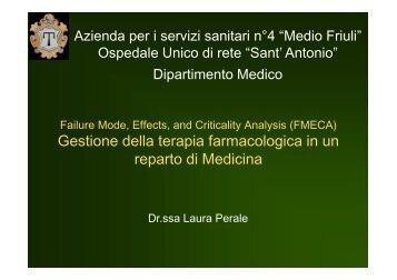 Perale: FMEA - Medio Friuli