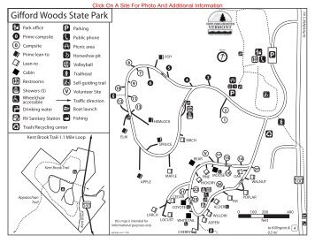 Lake Carmi State Park Interactive Campground Map & Guide (pdf)