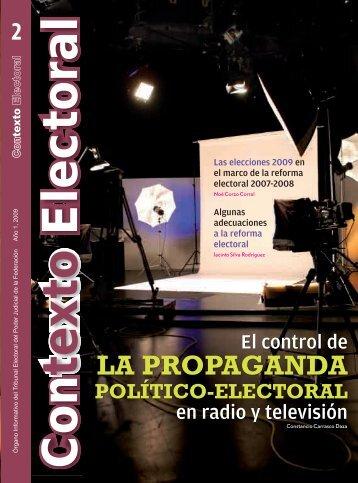 la propaganda - Tribunal Electoral del Poder Judicial de la Federación