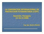 Beatriz Melchó. La convención Internacional de Protección ...