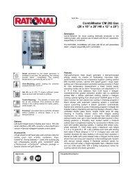 "CombiMaster CM 202 Gas (20 x 18"" x 26""/40 x ... - MyChefStore.com"