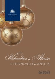 Imperial Christmas - Starwood Hotels & Resorts