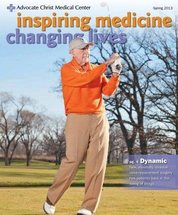 Spring 2013 - Advocate Health Care