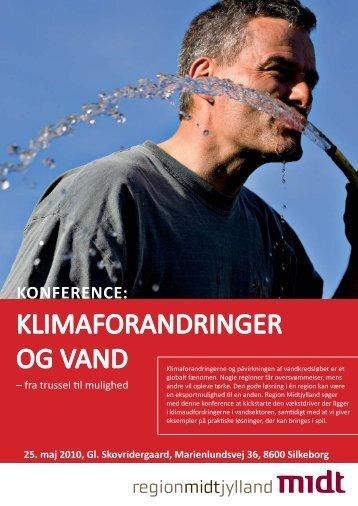 Program for vand konference 25.5.10 - Region Midtjylland