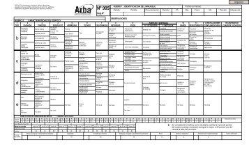 Formulario 905 - Arba