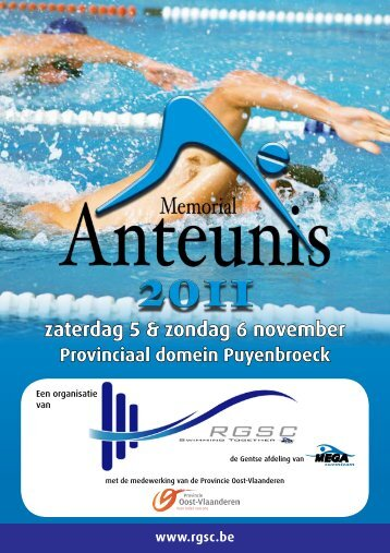 Info-Flyer Nederlands - Royal Ghent Swimming Club