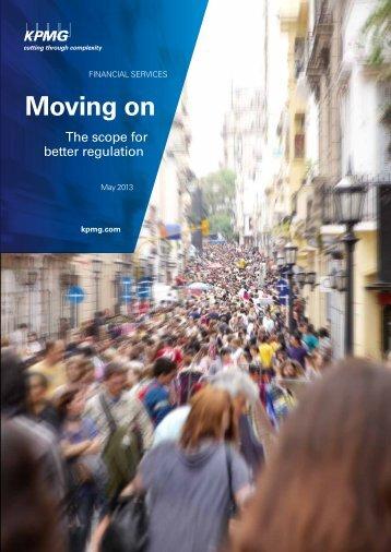 KPMG - better regulation in banking