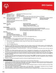 General Information - Special Olympics Indiana