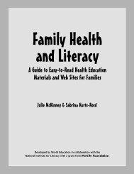 e e - Health & Literacy Special Collection - World Education