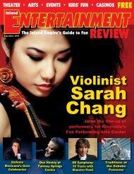 Violinist - Inland Entertainment Review Magazine