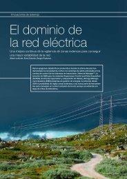 El dominio de la red eléctrica