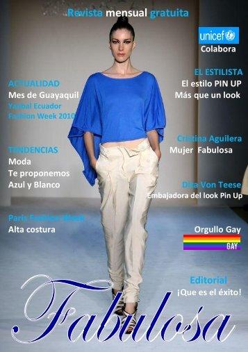 Revista mensual gratuita - fabulosarevista