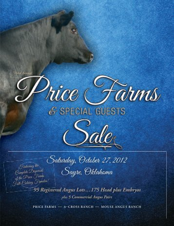 95 Registered Angus Lots…175 Head plus Embryos - A Cross Ranch