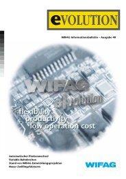 WIFAG Informationsbulletin – Ausgabe 40 Automatischer ...
