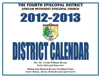 THE FOURTH EPISCOPAL DISTRICT