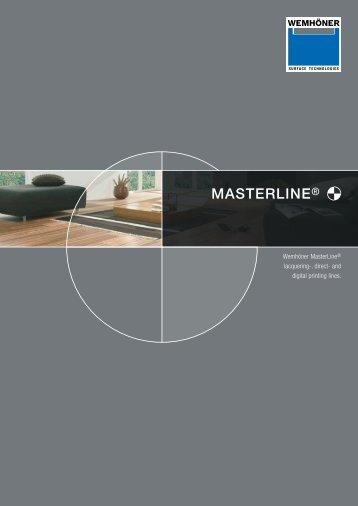 MASTERLINE® - Heinrich Wemhöner GmbH & Co. KG