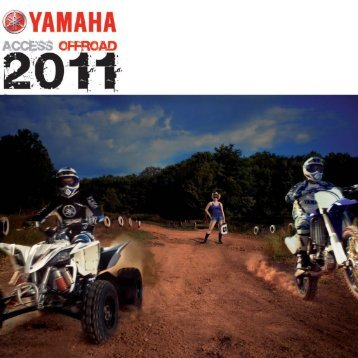 Catalogue accessoires yamaha