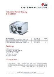 D575.00141 - Hartmann Elektronik Gmbh