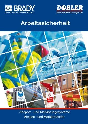 Katalog Absperr- und Markierbänder - Dobler GmbH Dobler GmbH
