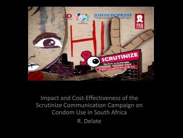 Impact and Cost-Effectiveness of the Scrutinize Communication ...
