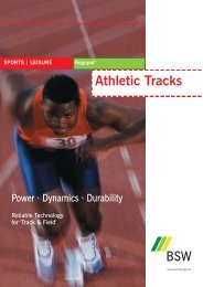 Regupol Athletic Tracks - Performance Surfaces