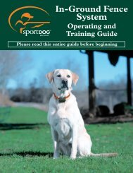 In-Ground Fence System - K9 Control