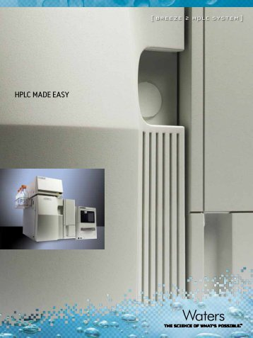 HPLC MADE EASY - Waters