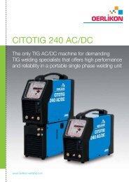 citotig 240 ac/dc - Air Liquide Welding