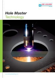 Hole Master - Air Liquide Welding