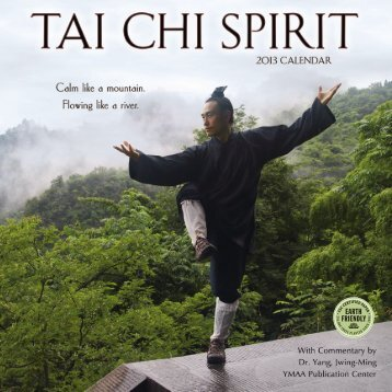 Tai Chi Spirit 2013 Calendar