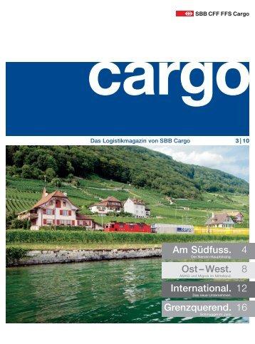 Ausgabe 3 / 10 - SBB Cargo