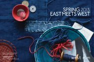 west elm Spring 2013 Preview
