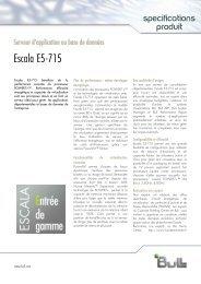 Télécharger le flyer du serveur Escala E5-715 - Bull