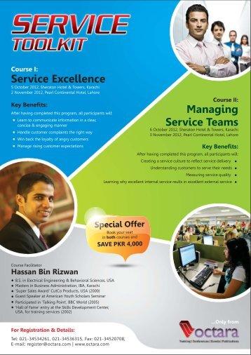 Service Excellence - Octara.com