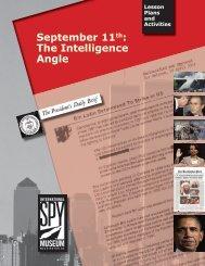September 11th: The Intelligence Angle - International Spy Museum
