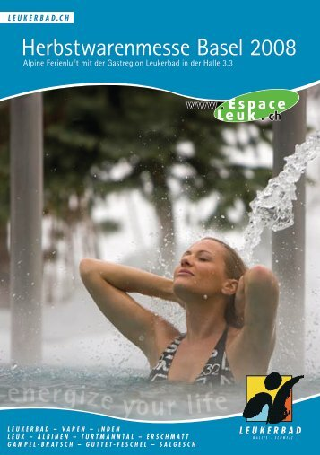 energize your life - Leukerbad Tourismus