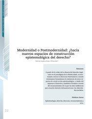 Modernidad o Postmodernidad: Â¿hacia nuevos espacios de ...